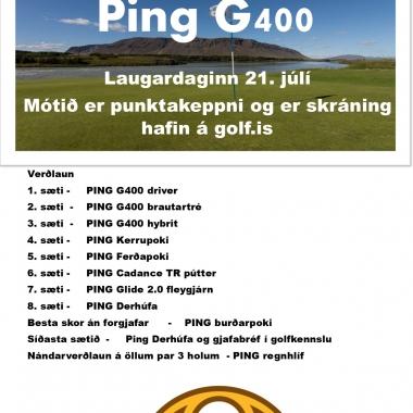 Opna PING G400