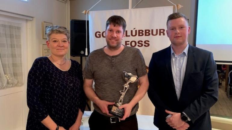 Guðmundur Bergsson hlaut háttvísisbikar GSÍ