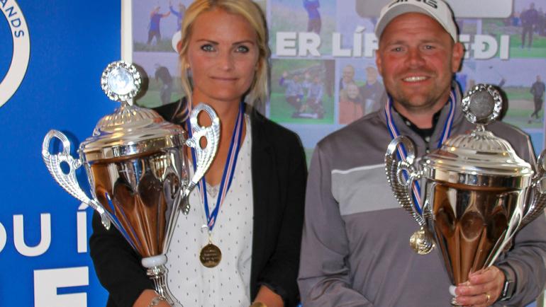 Hlynur Geir Hjartarson Íslandsmeistari +35